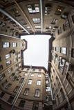 Yard-gut in St Petersburg, Russland Lizenzfreies Stockfoto