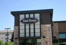 Yard-Haus-Restaurant stockfoto