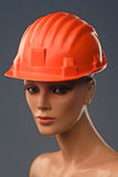 yard helmet Royalty Free Stock Photography