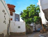 Yard historique de jeddah image stock
