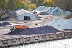 Yard industriel image libre de droits