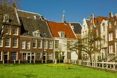 Yard intérieur à Amsterdam Photos libres de droits