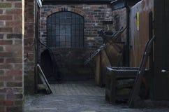 The Yard at Iron Bridge Museam Stock Photos