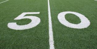 50 Yard Line stock photography