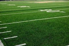 Yard-Line des Fußball-20 Stockbild