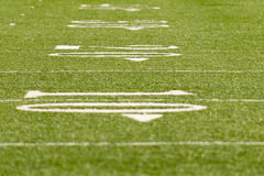 20 Yard Line Stock Image