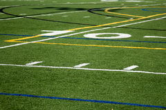 10 Yard Line Royalty Free Stock Photos