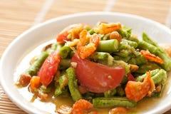 Yard long bean salad Stock Photo