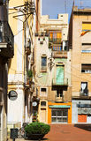 Yard in mediterranean city.  Barcelona Royalty Free Stock Photos
