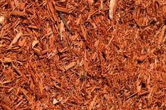 Yard mulch. Shot of yard mulch background Stock Image