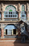 Yard of Mysore palace, India Royalty Free Stock Photos
