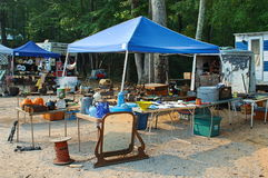 Yard Sale. Garage Sale Flea Market Stock Images