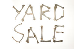 Yard Sale Royalty Free Stock Photos