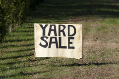 Yard sale Stock Photos