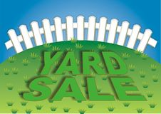 Yard Sale 3 Royalty Free Stock Images