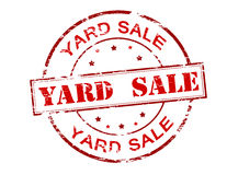 Yard sale Royalty Free Stock Images
