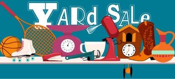 Yard Sale Sign Stock Photo
