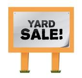 Yard sale sign illustration design Stock Photo
