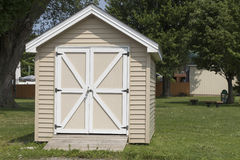Yard Shed royalty free stock photo