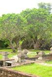 Yard Of Sunyaragi Cave Cirebon Royalty Free Stock Photography