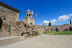 Yard of the Svetitskhoveli Cathedral Stock Photos