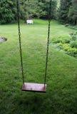 Yard Swing royalty free stock image