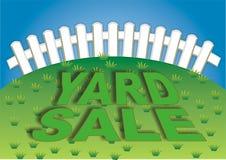 Yard-Verkauf 3 Lizenzfreie Stockbilder