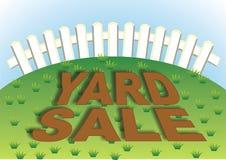 Yard-Verkauf 4 Stockfotografie