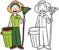 Yard Work Royalty Free Stock Image