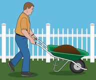 Yard Work Royalty Free Stock Images