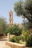 Yarda Agia Napa de la corte del monasterio fotografía de archivo libre de regalías