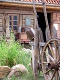 Yarda antigua del país Fotos de archivo