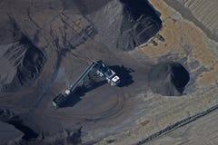 Yarda de carbón Imagen de archivo libre de regalías