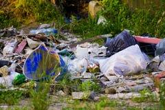 Yarda de desperdicios Fotografía de archivo libre de regalías