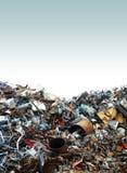 Yarda de desperdicios Fotografía de archivo
