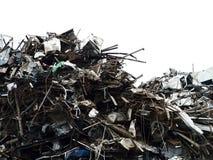 Yarda de desperdicios Imágenes de archivo libres de regalías
