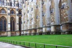 Yarda de la abadía de Westminster, Londres, Foto de archivo