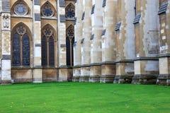 Yarda de la abadía de Westminster, Londres Fotografía de archivo