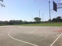 Yarda del baloncesto imagen de archivo