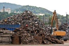 Yarda del desecho Foto de archivo libre de regalías