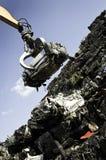 Yarda del desecho del coche Foto de archivo libre de regalías