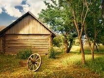 Yarda del país Imagen de archivo libre de regalías