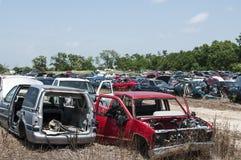 Yarda del salvamento del automóvil Imagenes de archivo