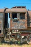Yarda del sepulcro de la locomotora de vapor Fotografía de archivo