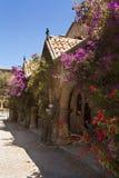 Yarda en el monasterio de nuestra señora Imagenes de archivo