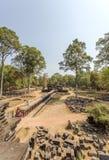 Yarda exterior del templo de Phuon de los vagos, Angkor Thom, Siem Reap, Camboya Fotografía de archivo libre de regalías