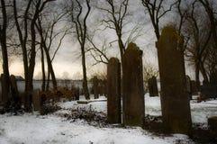 Yarda grave melancólica Imagen de archivo