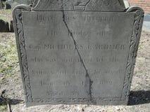 Yarda grave Monumento, Ben Franklin imagen de archivo