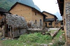 Yarda interna de la corte de una casa en China 2 Foto de archivo
