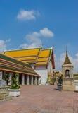 Yarda interna en Wat Pho Kaew, Bangkok, Tailandia Fotos de archivo libres de regalías
